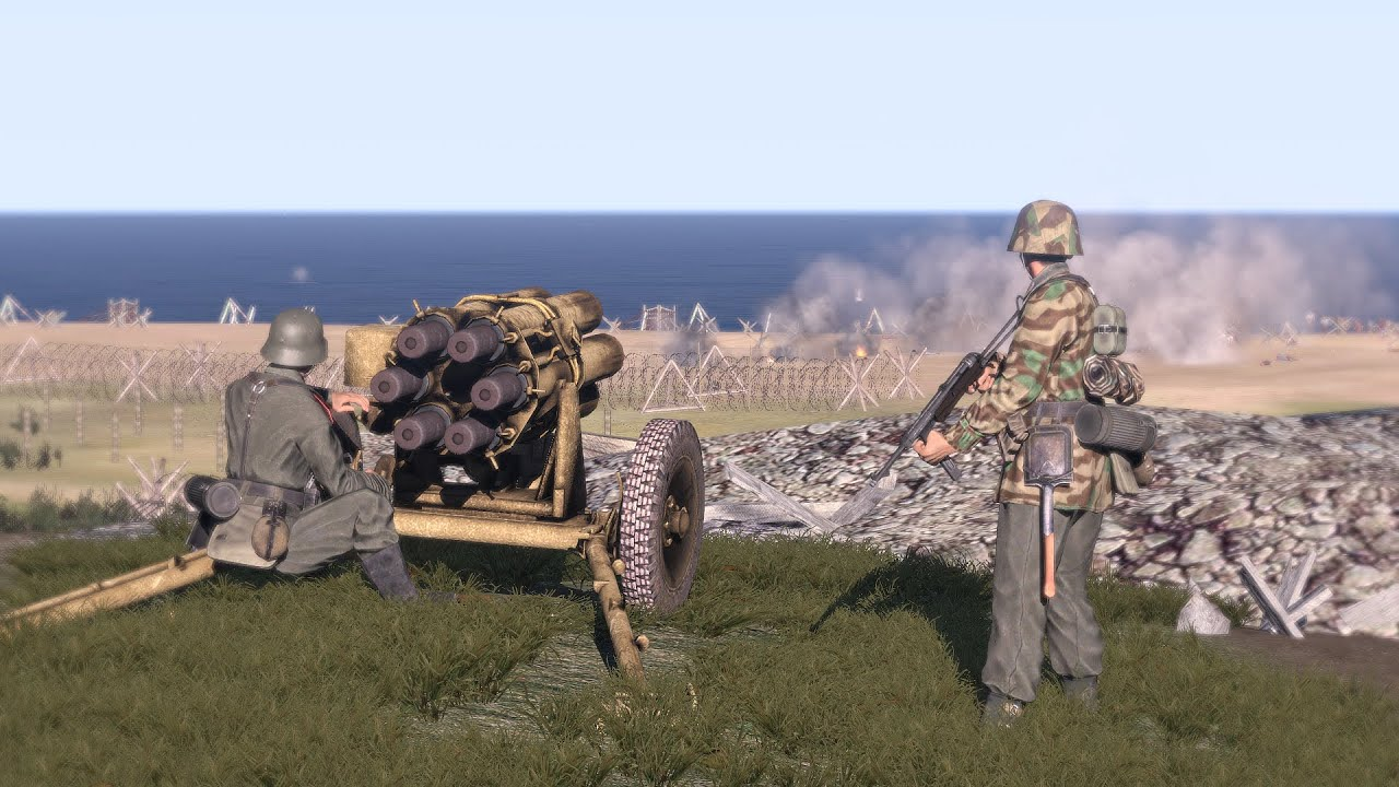 Arma 3 Zombie Mod: Allied Enemies are Defending from Zombies