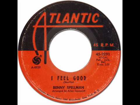 BENNY SPELLMAN - I FEEL GOOD [Atlantic 2291] 1965