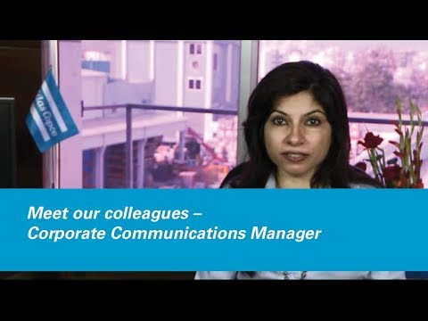 Meet Our Colleagues – Corporate Communications Manager