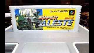 Classic Game Room - SUPER ALESTE review for Super Nintendo