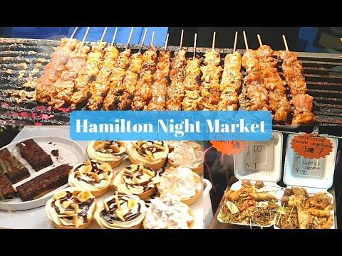 Hamilton Night Market- The Food Market In Hamilton, New Zealand.