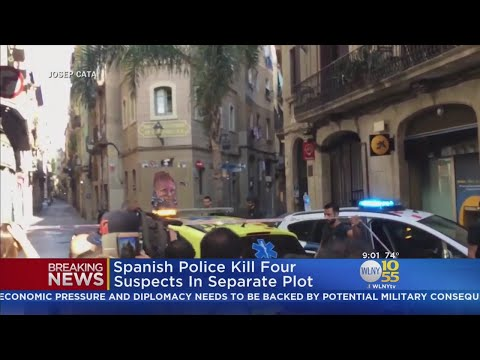 ISIS Claims Responsibility For Barcelona Terror Attack
