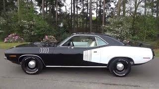 1971 Hemi Cuda -TX9 Black & 4 speed