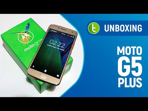 Unboxing E Primeiras Impressões Moto G5 Plus | TudoCelular.com