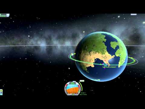 Kerbal Space Program Tutorial - How to Dock and Transfer Fuel