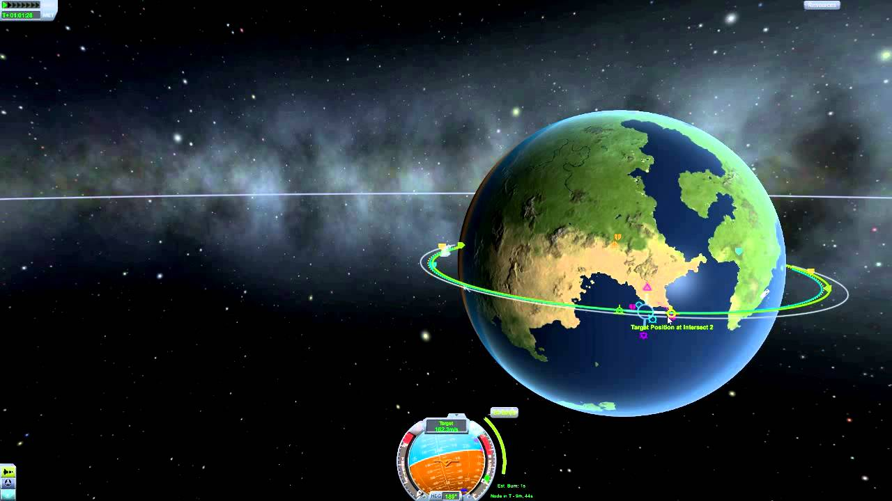 Kerbal Space Program Tutorial - How to Dock and Transfer ...