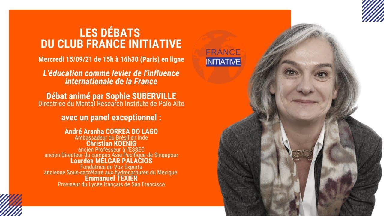"""Les Débats du CFI : """"l'éducation comme levier de l'influence internationale de la France"""""""
