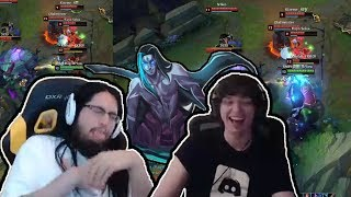 Imaqtpie Opens Clash Capsule First Time | Imaqtpie And Meteos Realize Kayn Is Broken | LoL Moments thumbnail
