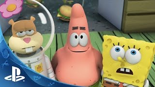 SpongeBob HeroPants Video Game - Launch Trailer | PS Vita