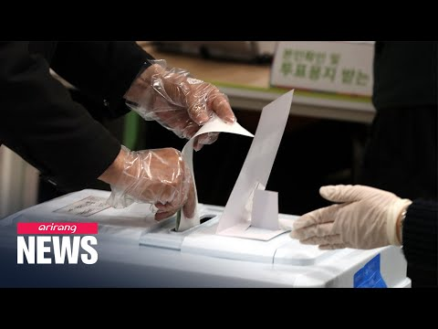 How COVID-19 has changed election scenes in South Korea