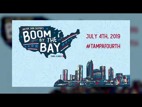 Tampa Bay - Tampa, St. Pete & Clearwater Compete for Best July 4th Fireworks Display