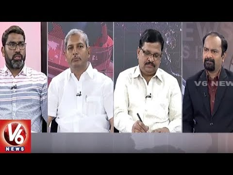 Special Debate : CM KCR Inspect Kaleshwaram Project | Good Morning Telangana | V6 News