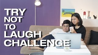 Try Not To Laugh Challenge! Ikutan Challenge sampai Basah!