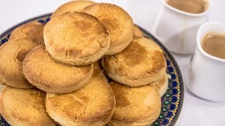 Osmania Biscuit Recipe - Indian Bakery Style Perfect Tea Salt Biscuits   CookingShooking