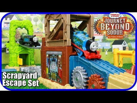 THOMAS AND FRIENDS: JOURNEY BEYOND SODOR TrackMaster Scrapyard Escape Set|Thomas & Friends Toys