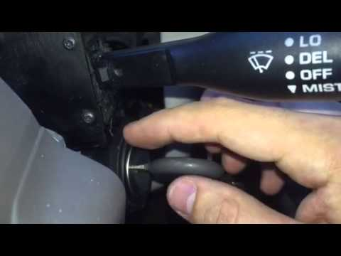 Ignition switch and ignition actuator replacement
