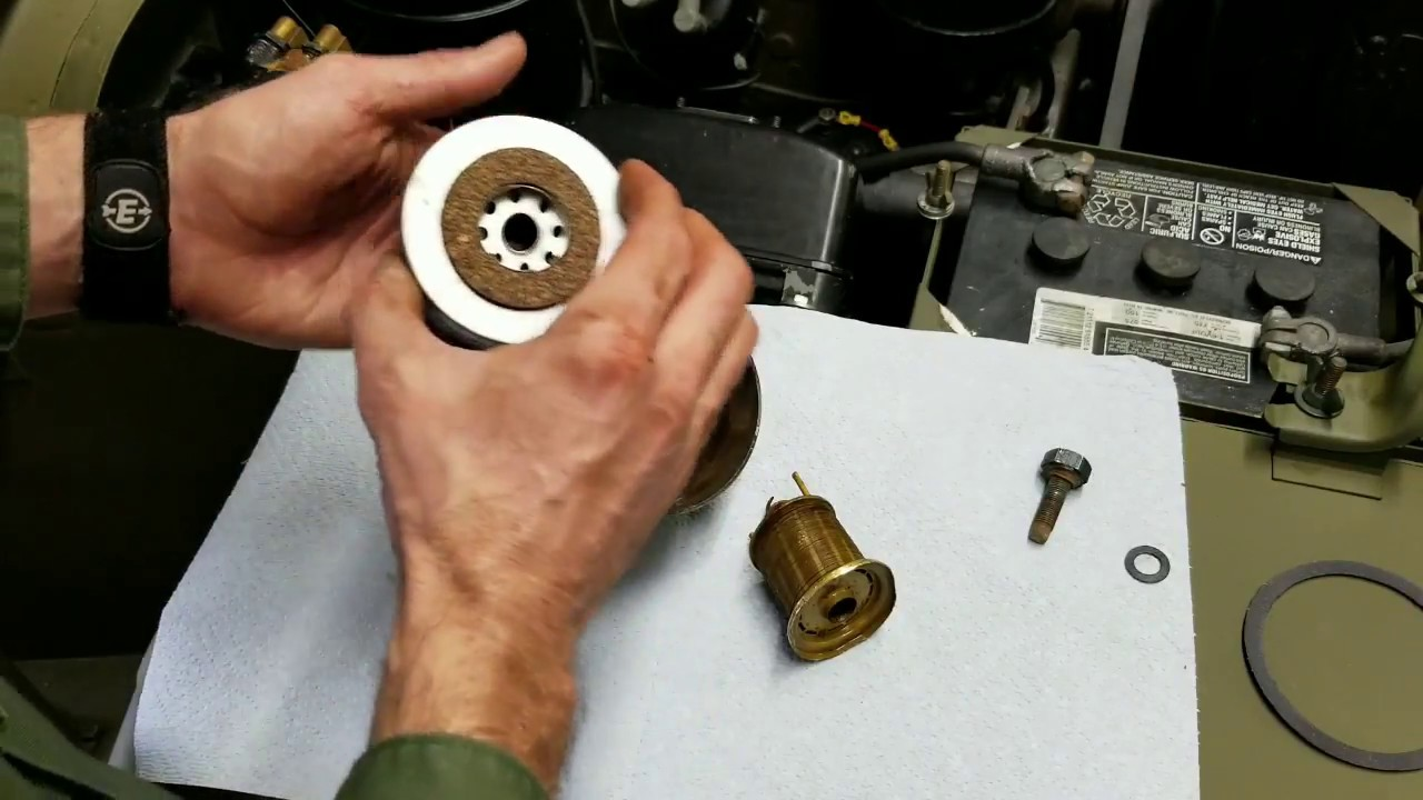 Jeep Fuel Filter Strainer Replacement Service For Willys