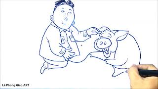 How dirty is your mind? - Funny drawing 10 - Lê Phong Giao Art