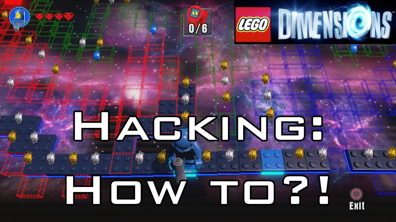 LEGO: Dimensions - Hacking: How to?! - Stupid Colours! or in other words:  Getting used to the pad!