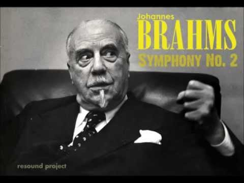 Brahms - Symphony No.2 - Beecham / RPO live 1956 (complete)