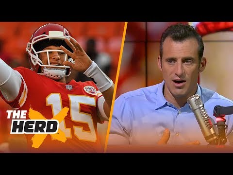 Doug Gottlieb weighs in on the Pat Mahomes experiment prior to FalconsChiefs  NFL  THE HERD