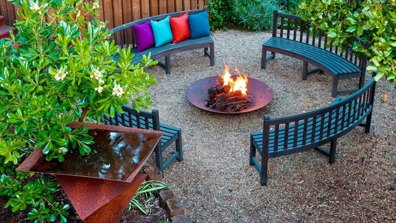 Simple Garden Ideas On A Budget - YouTube