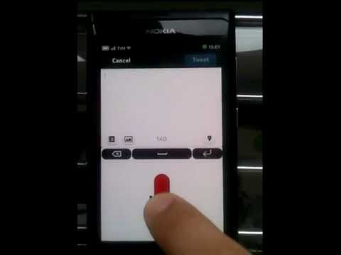 Speech to text for Nokia N9 - Quick Voice Input Keyboard - talk to your MeeGo Harmattan