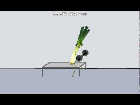 SBC:Ein Lauch geht ins Fitnessstudio - YouTube