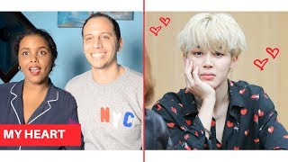 BTS BEING ADORABLE WITH FANS REACTION (BTS REACTION)