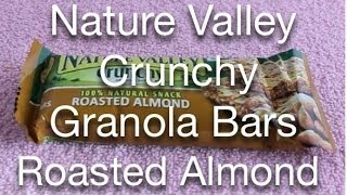Nature Valley Crunchy Granola Bars   Roasted Almond