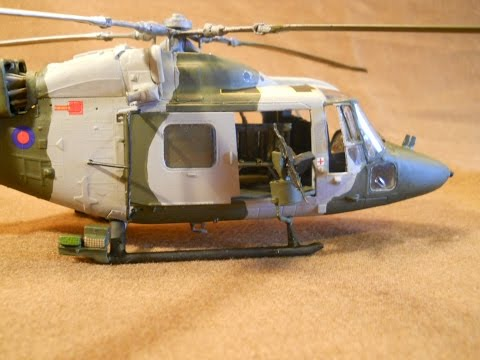 AIRFIX 1/48 Westland Lynx AH.7 - A Build In Pictures