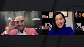 UFC 257: Conor McGregor Sits Down With Megan Olivi