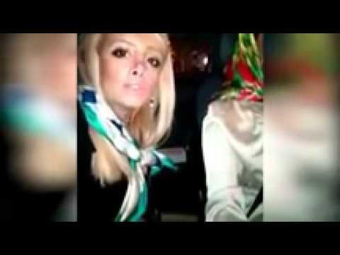 Hilarious girls crash car while making a karaoke selfie video   Daily Mail Online