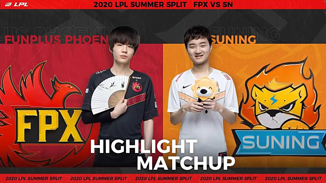 【LPL夏季賽】第10週 FPX vs SN #3