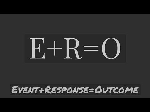 """Larry Booker """"E.vent+R.esponse=O.utcome"""""""