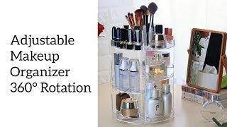Unboxing | Installation - Adjustable Makeup Organizer (360° Rotation)