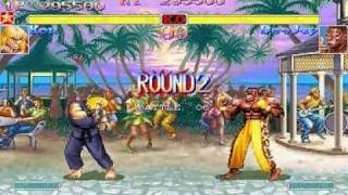 Super Street Fighter II Turbo Ken Gameplay - Part 1/2 thumbnail
