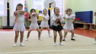 Открытый урок по ритмике в детском саду. 27 апреля 2016