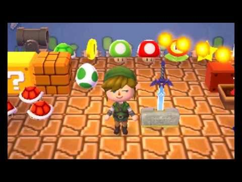 Animal Crossing: New Leaf - All Nintendo Items! (Complete Fortune Cookie Prize Guide)