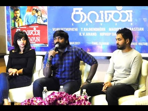 Kavan Movie KL Malaysia Press Meet -  Vijay Sethupathi, Madonna Sebastian, Hiphop Tamizha, Jagan