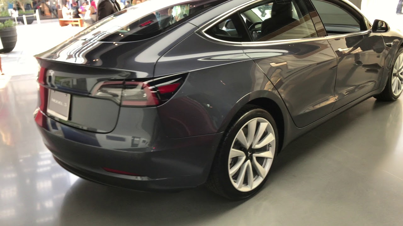 Tesla Model 3 Back Seat View 2 Of