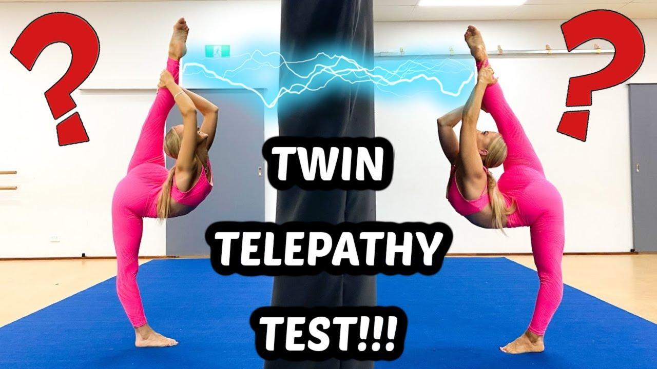 Download TWIN TELEPATHY (IS IT REAL?) ACRO/GYMNASTICS CHALLENGE