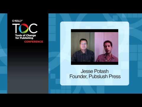 Pubslush Press founder Jesse Potash on what makes their publishing service different