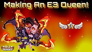 Idle Heroes (S) - Fusing Up Our Next E3 Unit - 13 Star Queen Is Made