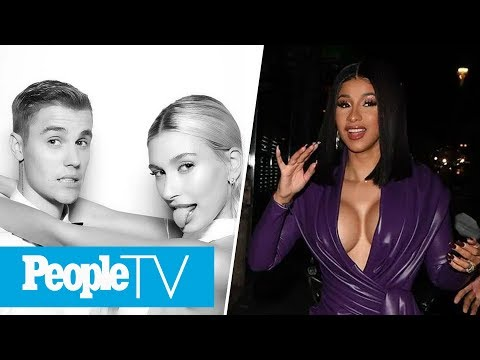 Cardi B. In Purple Latex Outfit For PFW, Justin Bieber Shares First Wedding Photos | PeopleTV from YouTube · Duration:  35 minutes 45 seconds