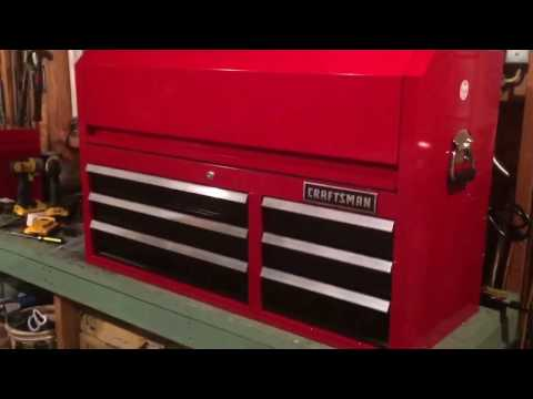 Craftsman 6 Drawer Top Box First Impressions