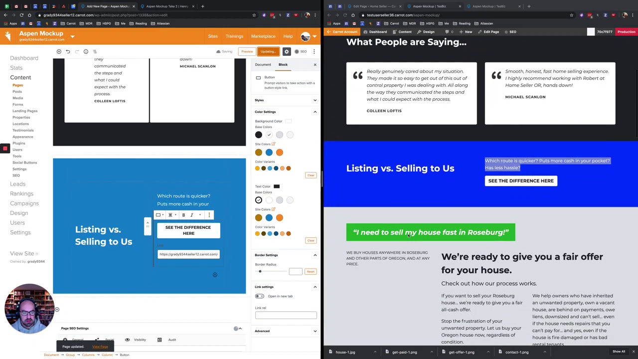 Creating The Aspen Home Page With The New Visual Editor