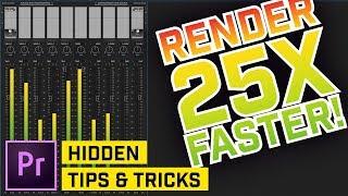 5 Hidden Tips & Trİcks in Premiere Pro CC