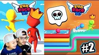 Carreras Locas vs Zombies | Run Race 3D Gameplay | Juegos Karim Juega