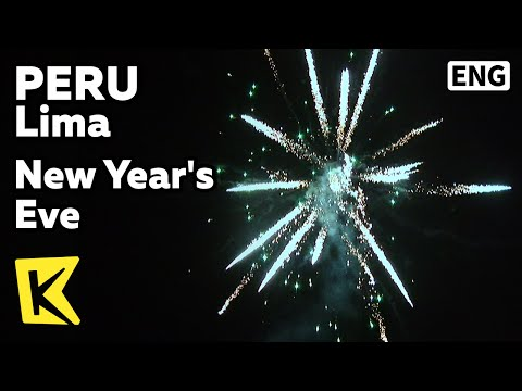 【K】Peru Travel-Lima[페루 여행-리마]12월 31일, 새해맞이 풍습/New Year's Eve/Food/Pork/Grape/Firework